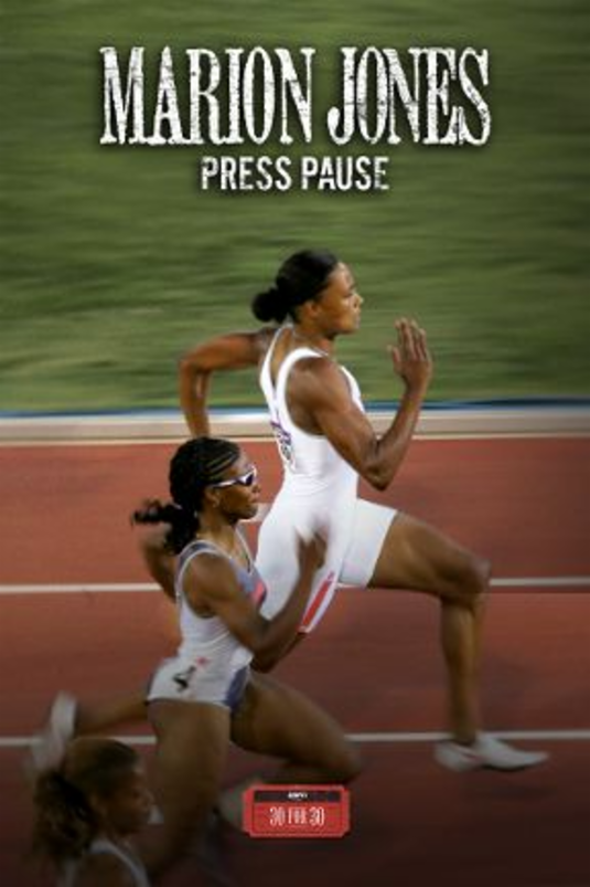 Marion Jones: Press Pause