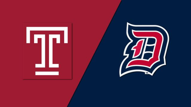 Temple vs. Duquesne (M Soccer)