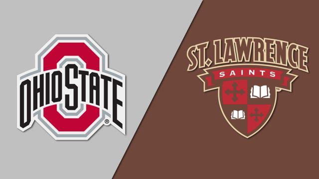 #4 Ohio State vs. #10 St. Lawrence (W Hockey)