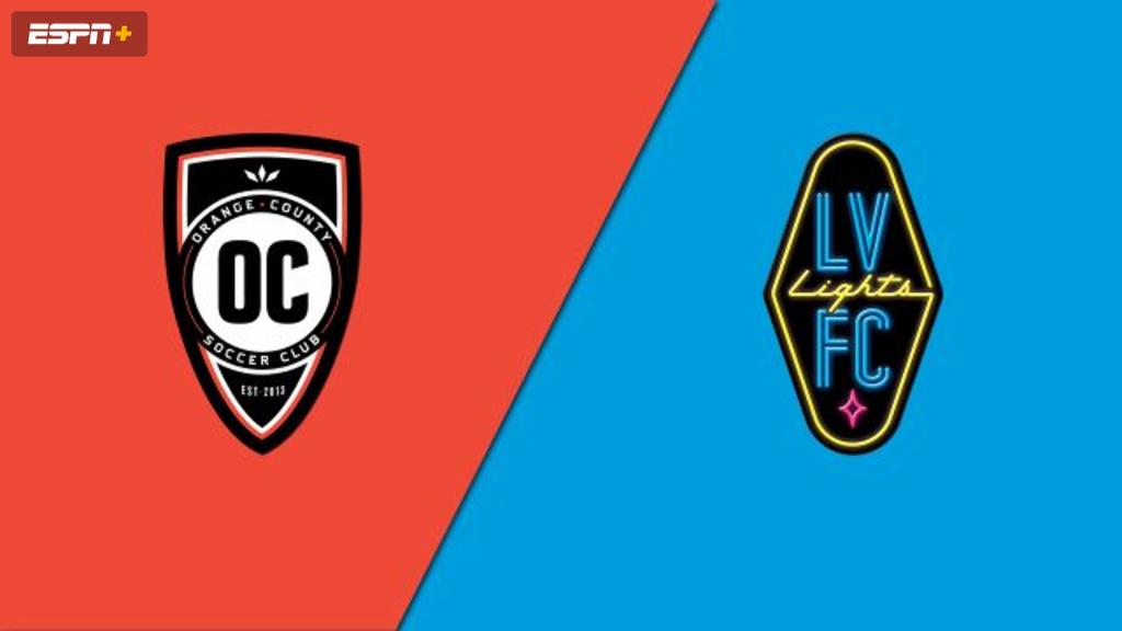 Orange County SC vs. Las Vegas Lights FC (USL Championship)