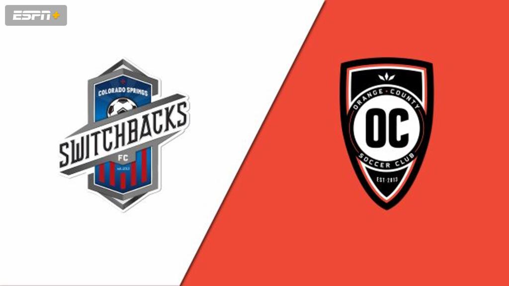 Colorado Springs Switchbacks FC vs. Orange County SC (USL Championship)