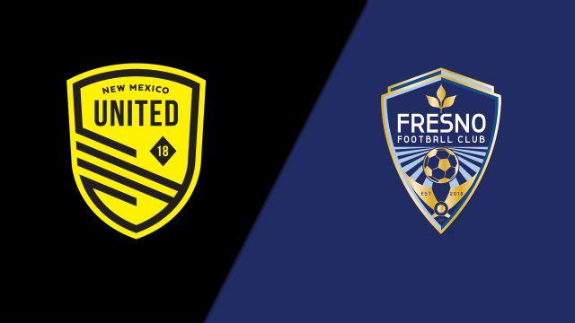 New Mexico United vs. Fresno FC (United Soccer League)