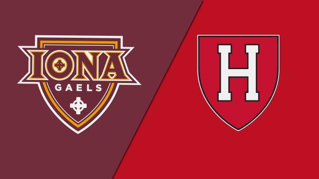 Iona vs. Harvard (M Water Polo)