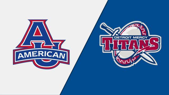 American vs. Detroit Mercy (W Lacrosse)