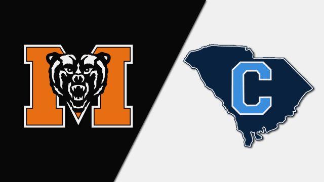 Mercer vs. The Citadel (W Soccer)