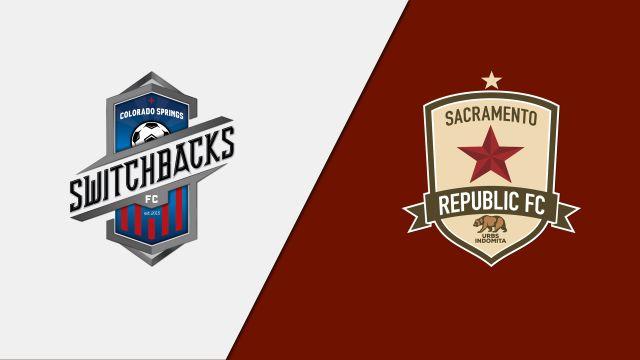 Colorado Springs Switchbacks FC vs. Sacramento Republic FC (United Soccer League)