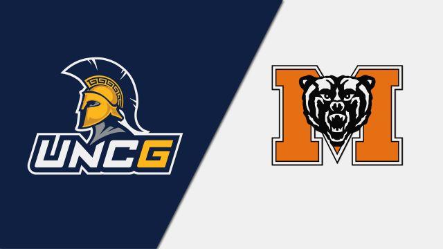UNC Greensboro vs. Mercer (W Basketball)