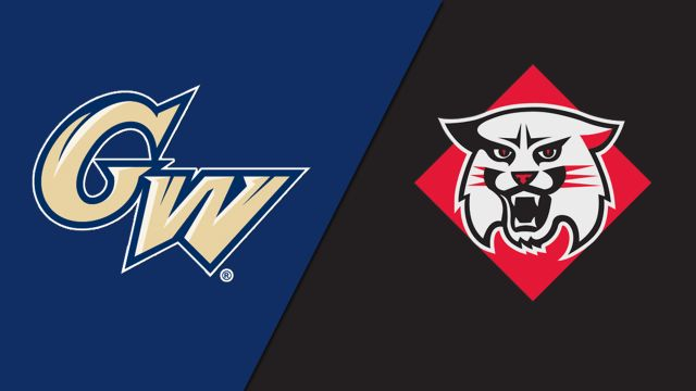 George Washington vs. Davidson (W Volleyball)