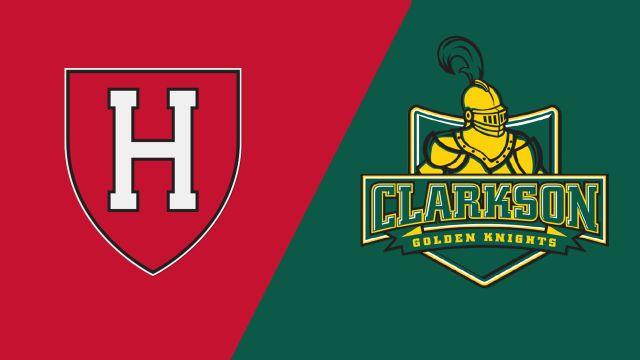 Harvard vs. #5 Clarkson (W Hockey)
