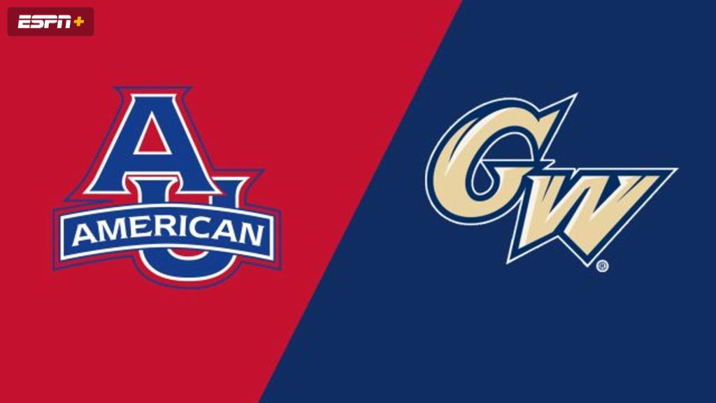 American vs. George Washington (W Volleyball)