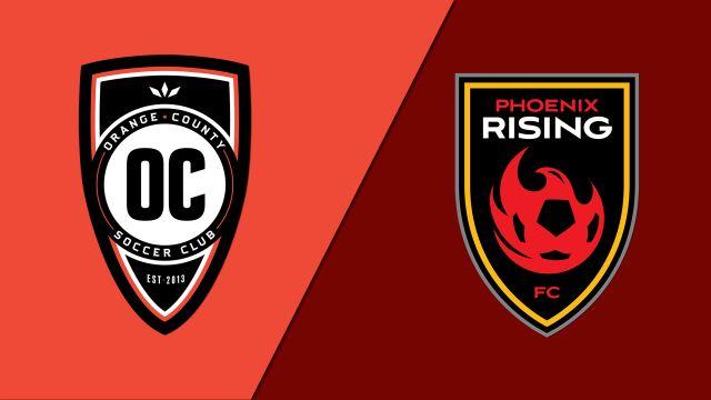 Orange County SC vs. Phoenix Rising FC (Conference Finals) (United Soccer League)