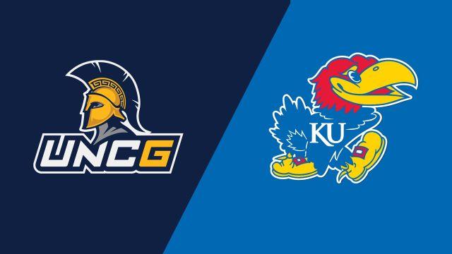 UNC Greensboro vs. Kansas (W Volleyball)