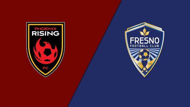 Phoenix Rising FC vs. Fresno FC (USL Championship)