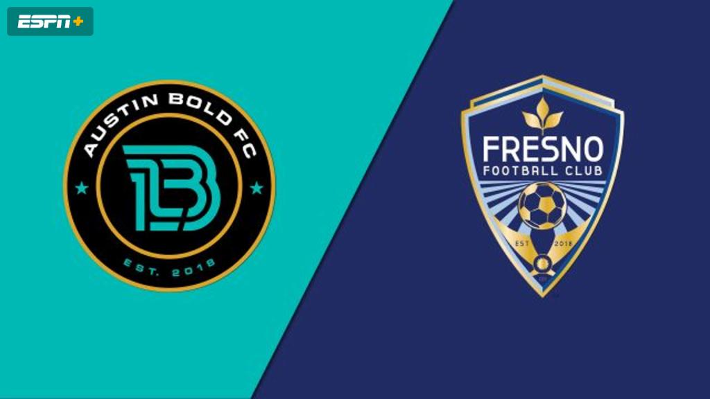 Austin Bold FC vs. Fresno FC (USL Championship)