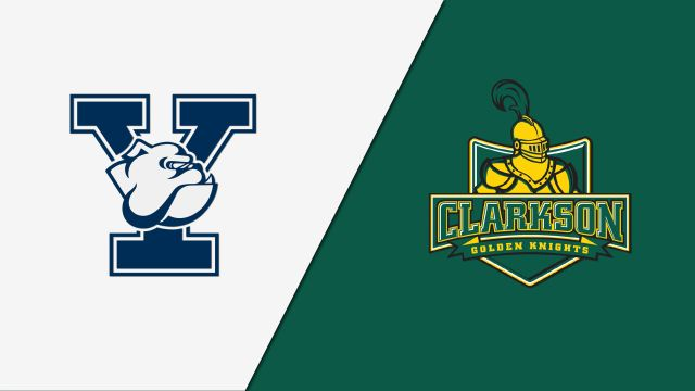 Yale vs. #11 Clarkson (Quarterfinal) (ECAC Playoffs)