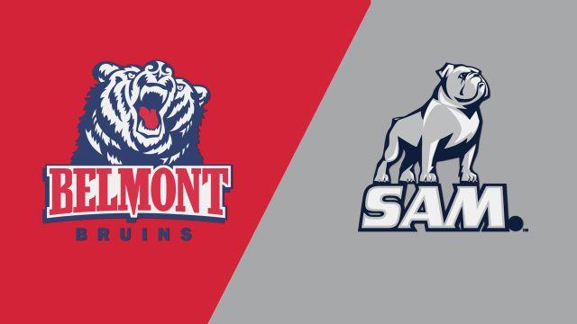 Belmont vs. Samford (M Basketball)