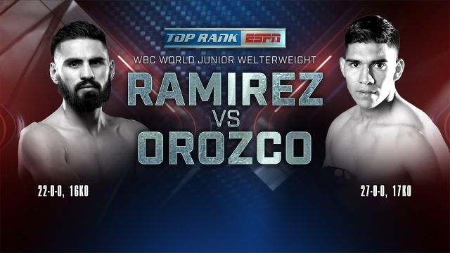 Top Rank Boxing on ESPN: Ramirez vs. Orozco Official Press Conference