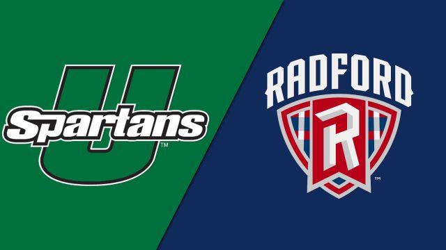 USC Upstate vs. Radford (W Soccer)