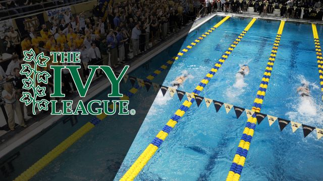 Ivy League Men's Swimming and Diving Championships (Day One Prelims) (Swimming)
