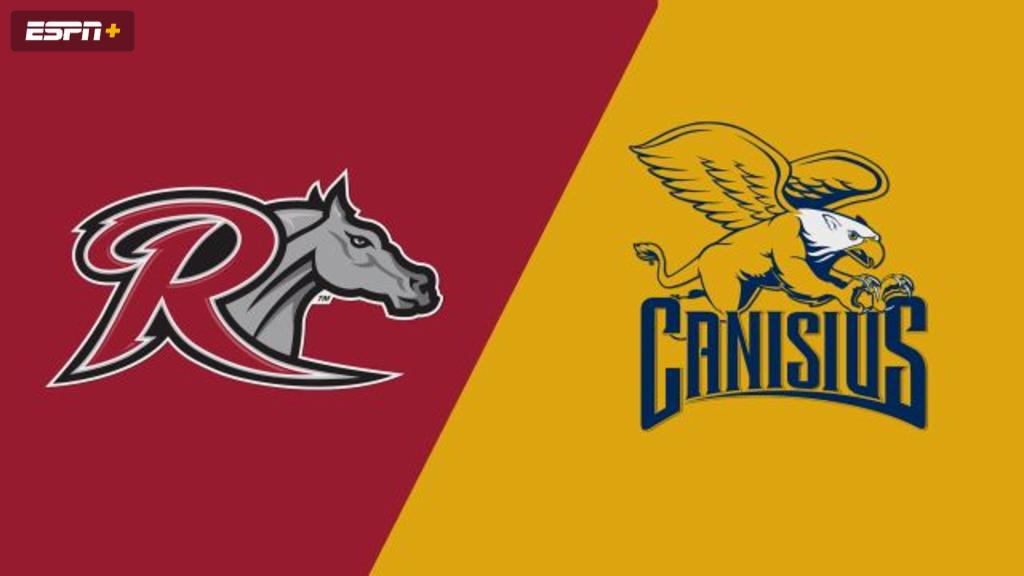 Rider vs. Canisius (M Soccer)