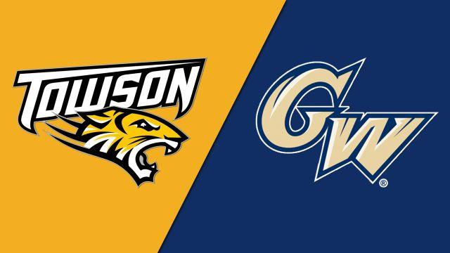 Towson vs. George Washington (M Basketball)