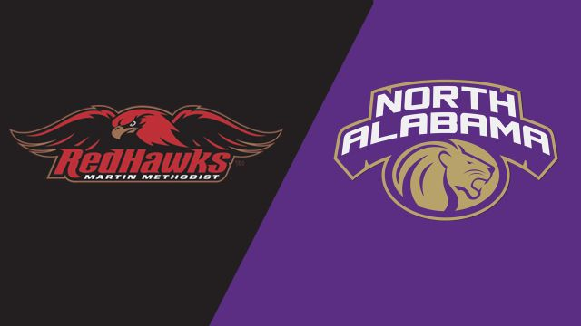 Martin Methodist vs. North Alabama (M Basketball)