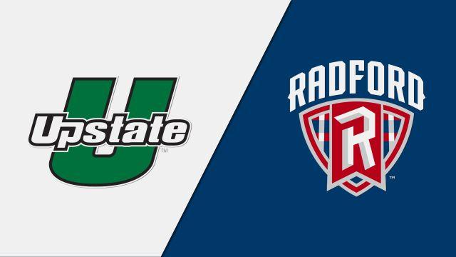 USC Upstate vs. Radford (W Basketball)