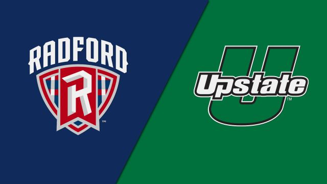 Radford vs. USC Upstate (Softball)