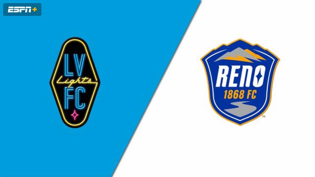 Las Vegas Lights FC vs. Reno 1868 FC (USL Championship)