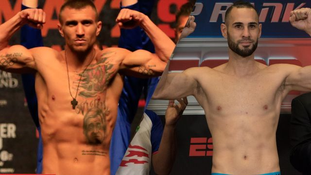 Top Rank Boxing on ESPN: Lomachenko vs. Pedraza Weigh-In