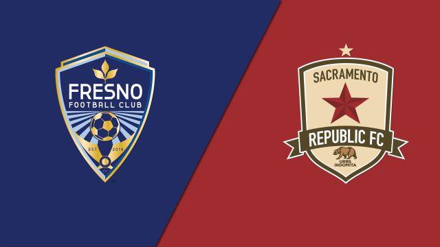 Fresno FC vs. Sacramento Republic FC (USL Championship)