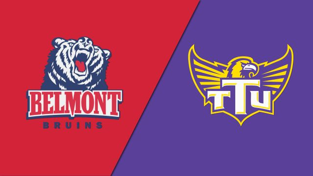 Belmont vs. Tennessee Tech (M Basketball)
