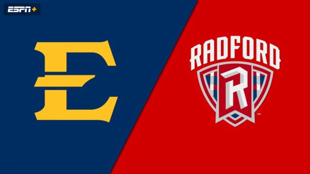 East Tennessee State vs. Radford (Softball)