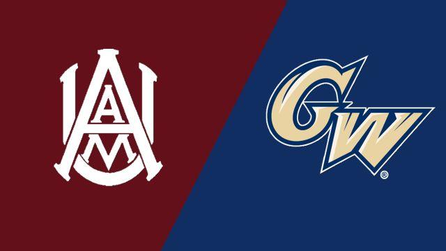 Alabama A&M vs. George Washington (W Volleyball)