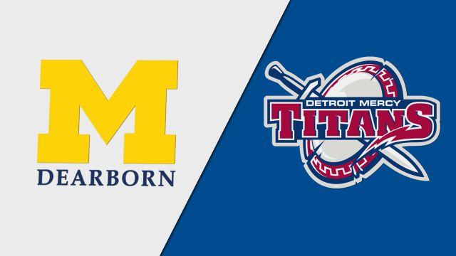 Michigan-Dearborn vs. Detroit Mercy (W Basketball)