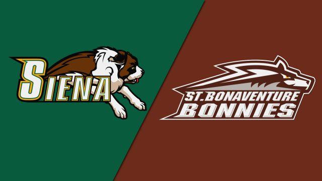 Siena vs. St. Bonaventure (M Basketball)