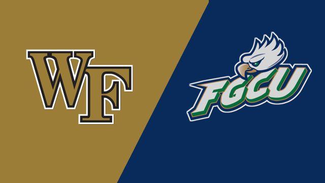 #1 Wake Forest vs. Florida Gulf Coast (M Soccer)