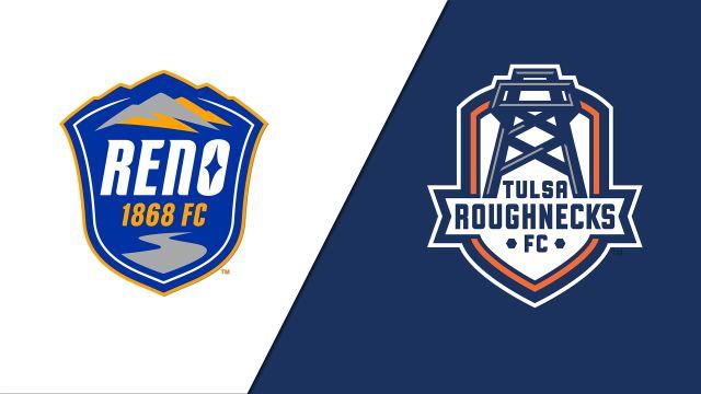 Reno 1868 FC vs. Tulsa Roughnecks FC (USL Championship)