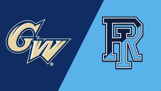 George Washington vs. Rhode Island (W Basketball)