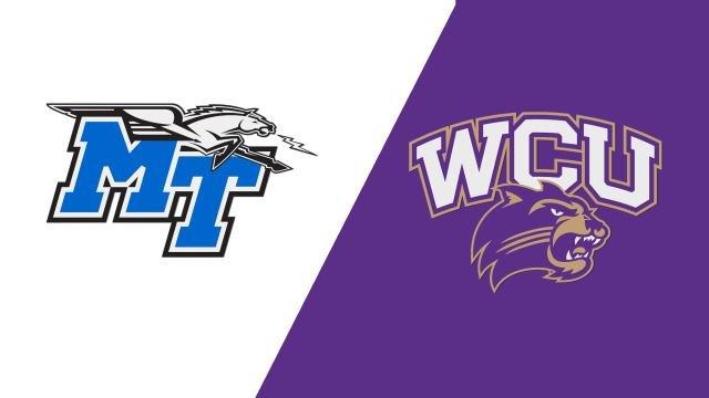 Middle Tennessee vs. Western Carolina (W Volleyball)