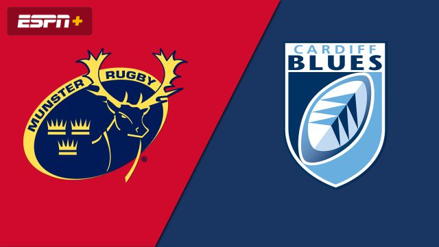 Munster vs  Cardiff Blues (Guinness PRO14 Rugby) - WatchESPN