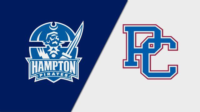 Hampton vs. Presbyterian (M Basketball)