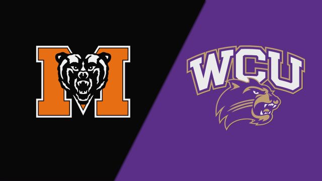 Mercer vs. Western Carolina (M Basketball)