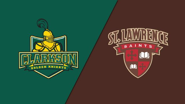 Clarkson vs. St. Lawrence (M Hockey)