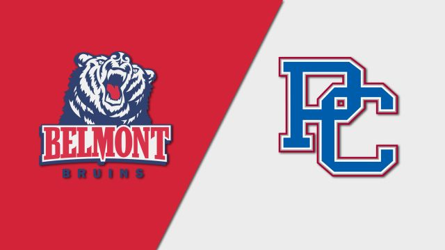 Belmont vs. Presbyterian (M Soccer)