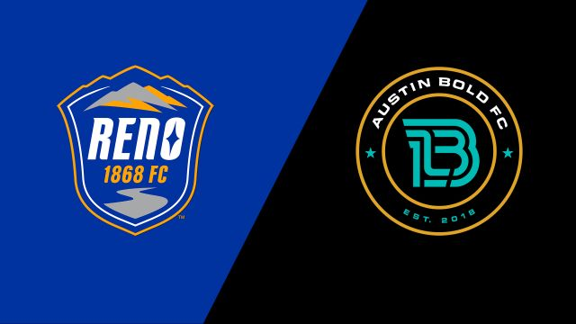 Reno 1868 FC vs. Austin Bold FC (United Soccer League)