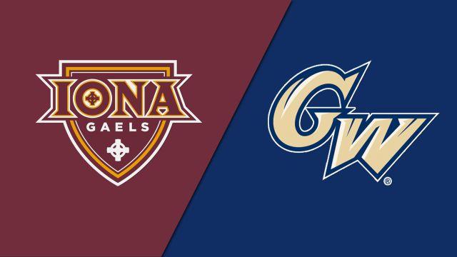 Iona vs. George Washington (Baseball)