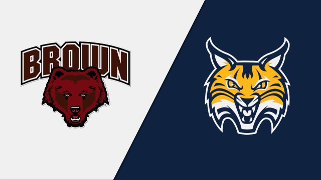 Brown vs. #5 Quinnipiac (Quarterfinal) (ECAC Playoffs)