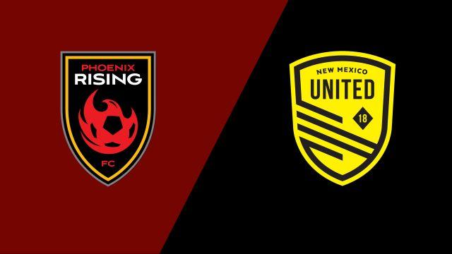 Phoenix Rising FC vs. New Mexico United (United Soccer League)