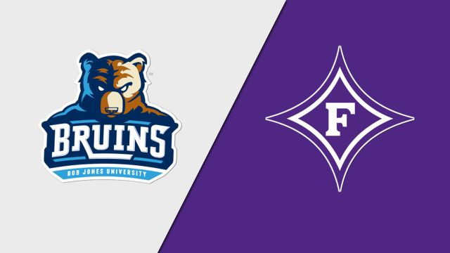 Bob Jones vs. Furman (M Basketball)